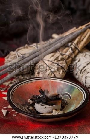 Incense of Salvia Apiana (White sage, sacred sage, bee sage, california sage)  #1370379779