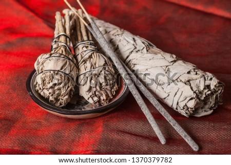 Incense of Salvia Apiana (White sage, sacred sage, bee sage, california sage)  #1370379782