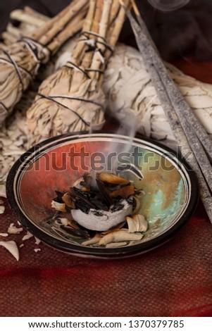 Incense of Salvia Apiana (White sage, sacred sage, bee sage, california sage)  #1370379785