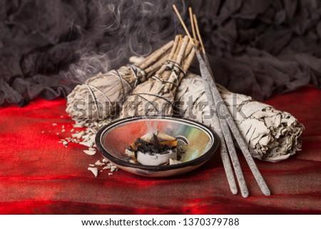 Incense of Salvia Apiana (White sage, sacred sage, bee sage, california sage)  #1370379788