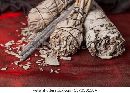 Incense of Salvia Apiana (White sage, sacred sage, bee sage, california sage)  #1370381504
