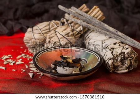 Incense of Salvia Apiana (White sage, sacred sage, bee sage, california sage)  #1370381510