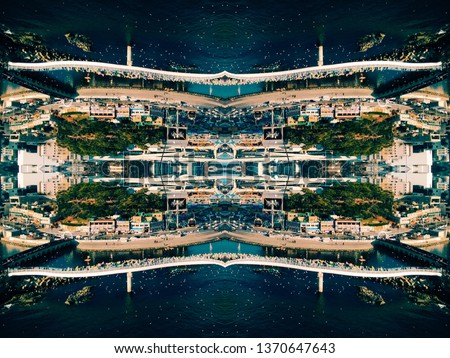 Inception city scape #1370647643