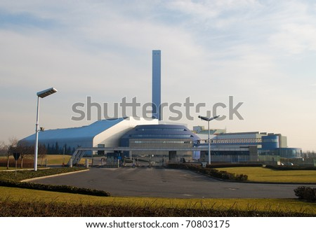 Incineration plant in Lombardy - Italy