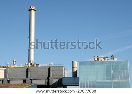 incinerator, Barcelona province, Spain