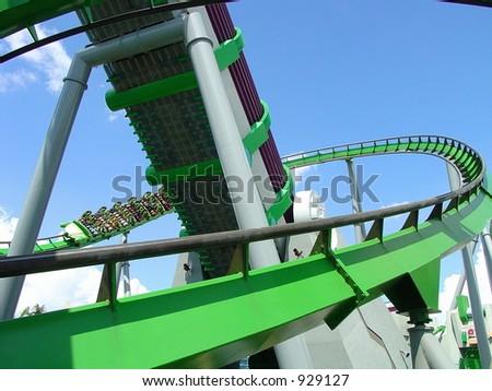 Incline Loop - stock photo
