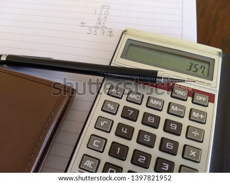 income and expense calculation at the end of the month #1397821952