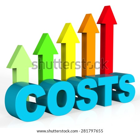Increase Costs Meaning Growing Money And Balance