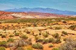 Incredibly beautiful landscape in Southern Nevada, Valley of Fire State Park, USA.