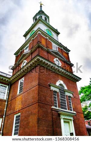 Independence Hall Philadelphia #1368308456