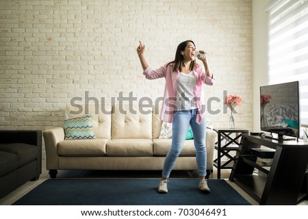 independent woman singing...
