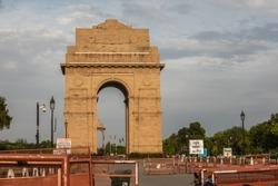 India Gate in Lockdown 2020, Delhi, India