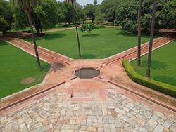 India Heritage Humayun Tomb gardening System