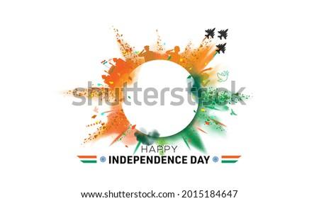 India independence day concept freedom celebration