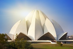 India. New Delhi, Lotus temple