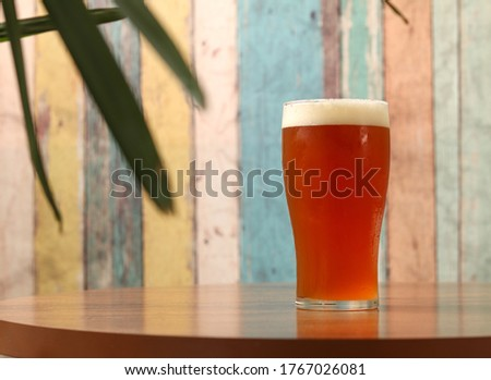 India Pale Ale craft beer pint Stockfoto ©