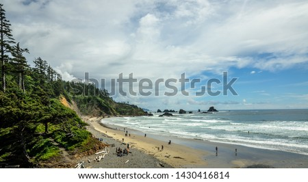 Indian Beach in Ecola state park in Oregon