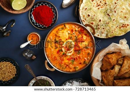 indian cuisine on diwali...