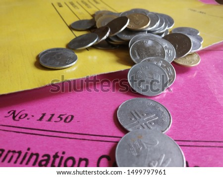 Indian currency and Indian currency coins