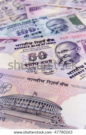 Indian currency-Rupees