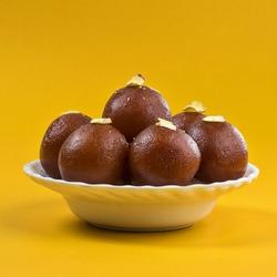 Indian Dessert or Sweet Dish : Gulab Jamun