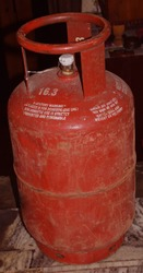 Indian Domestic LPG Gas Cylinder or Domestic Cooking gas Cylinder in