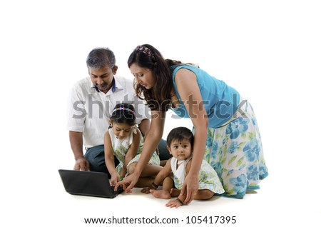indian family learning