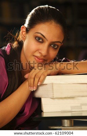 indian Female student