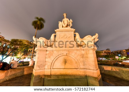 indian fountain or noble havana ...