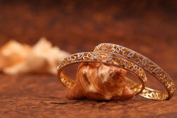Indian Gold Bangles Indian Gold Jewelry