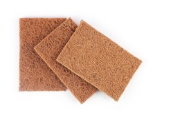 Indian home made Coconut coit dishwashing scrub pads