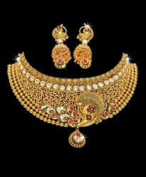 Indian jewellery  necklace design for woman