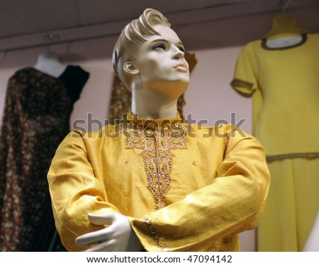 Indian  Male Mannequin.