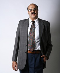 Indian man in corporate attire