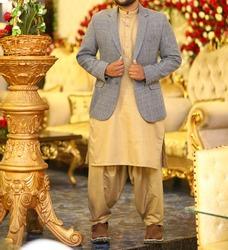 Indian model wearing shalwar qameez dress