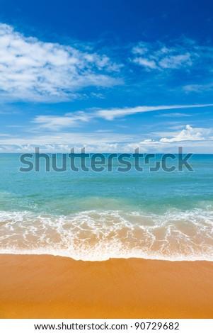 Indian ocean at Sri-Lanka