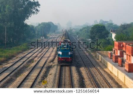 indian railway road