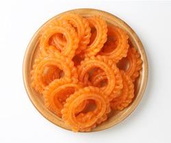 indian sweet jalebi or  imarti or imarati