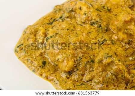 Indian traditional cuisine - Chicken tikka masala #631563779