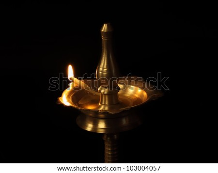 Indian Traditional Oil Lamp