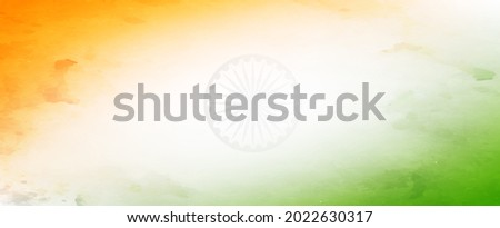 Indian tri color backgrund, abstract background Foto stock ©