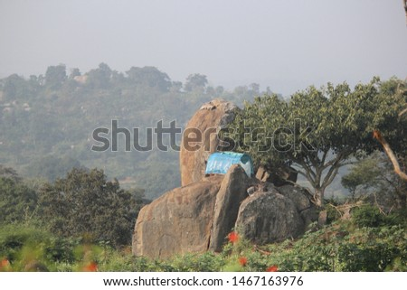 Indian Village Sceneries  (Travel Shoot) #1467163976
