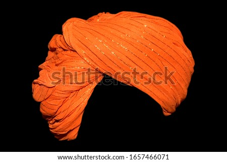 indian village turban image, village turban Stockfoto ©