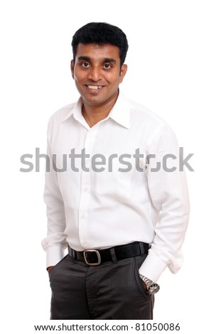 Indian young businessman posing to the camera / Indian young businessman / Indian young businessman
