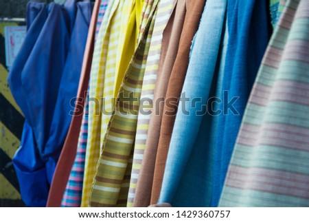 INDIGO,Indigo product,Indigo fabric with beautiful patterns,The pattern of indigo cloth which is unique to Thailand #1429360757
