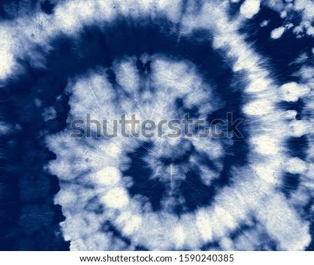 Indigo Round. Bohemian Tie Dye. Blue Roll Psychedelic. Shirt Hippie Design. Denim Funky Textile. Indigo Spiral. White Circular Tie Dye. White Circle Psychedelic. Fabric Hippie Design. Indigo Swirl.
