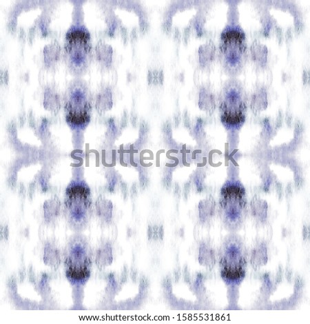 Indigo Shibori Pattern. Chinese Ornament. Grey Watercolor Vintage. Blue Ikat Geometric rug. Tie Dye Shibori. Watercolor Drawing. Chinese Ornament. Seamless Bohemian. Bohemian Fashion.