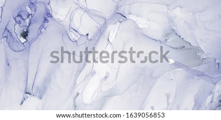 Indigo Smoke Paint. African Pattern Watercolor. Purple Framed Painting. Abstract Artwork Ocean. White Artwork. White Print Abstract Illustration.