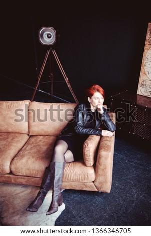Individual photo session, loft style