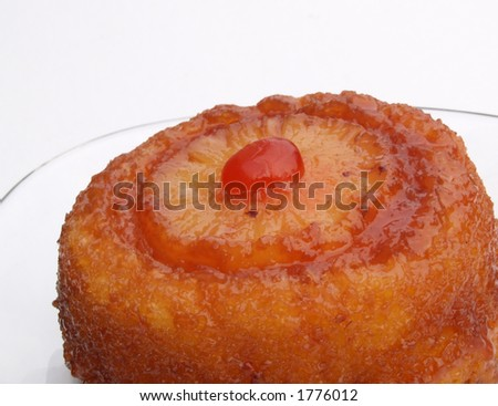 individual pineapple upside-down cake